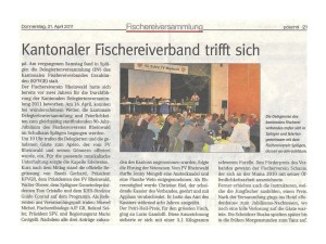 Zeitungsartikel im Pöschtli